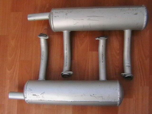 Фото 3 - Глушитель выхлопная труба запорожец  заз 40лс.