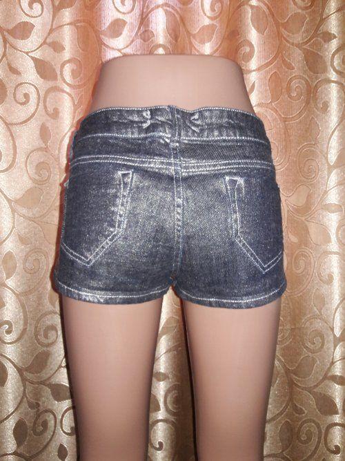 Фото 4 - Стильные короткие шорты top shop