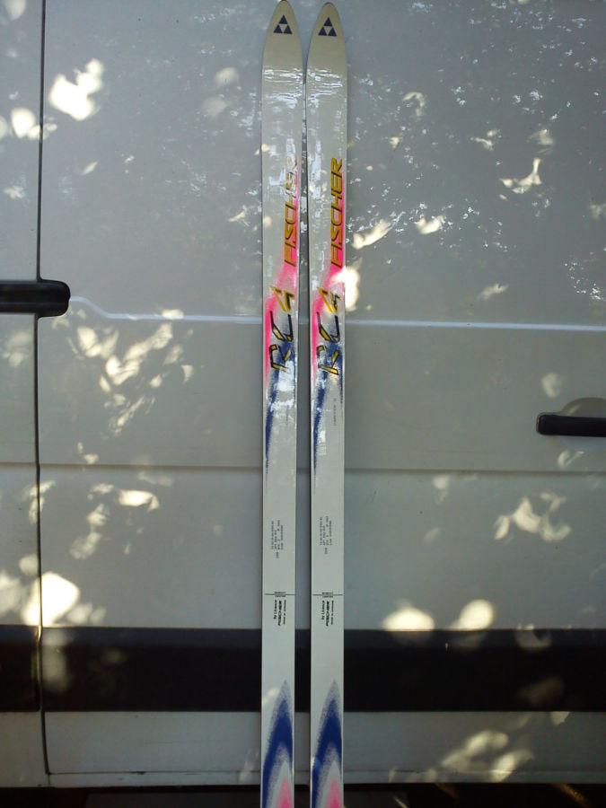 новые. Горные лыжи Fischer (1,95)(лицензионные)