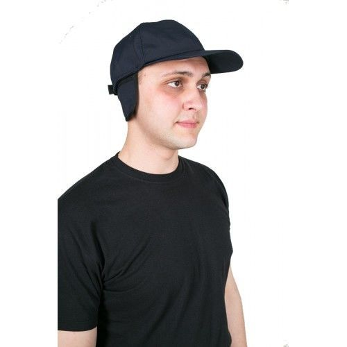 Фото - Блайзер утепленный мехом, шапка утепленная