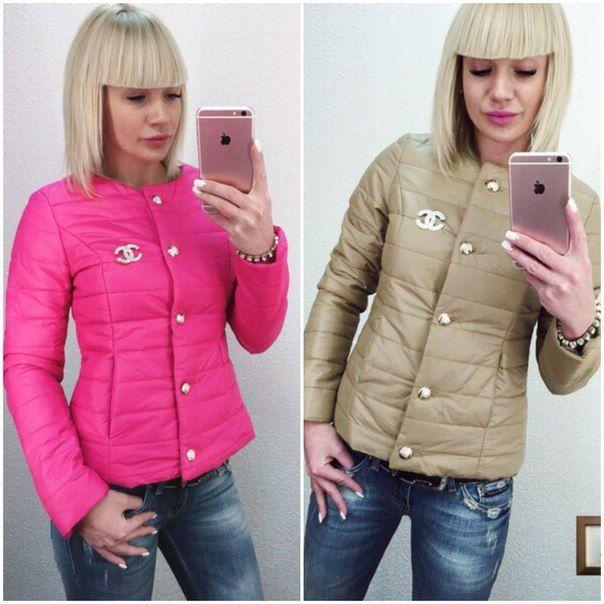 Фото 4 - Куртка Шанель (CHANEL), цвета в ассортименте! Курточка-огромный выбор!
