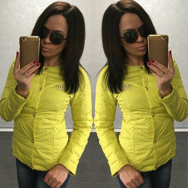 Фото 2 - Куртка Шанель (CHANEL), цвета в ассортименте! Курточка-огромный выбор!