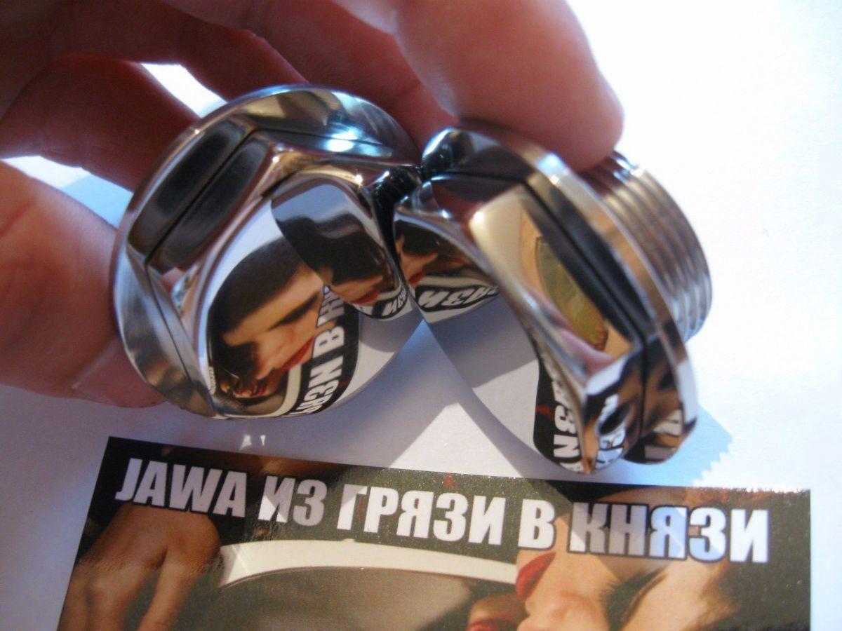 Фото 3 - Новинка-Пробки вилки ЯВА/JAWA 634 нержавейка.