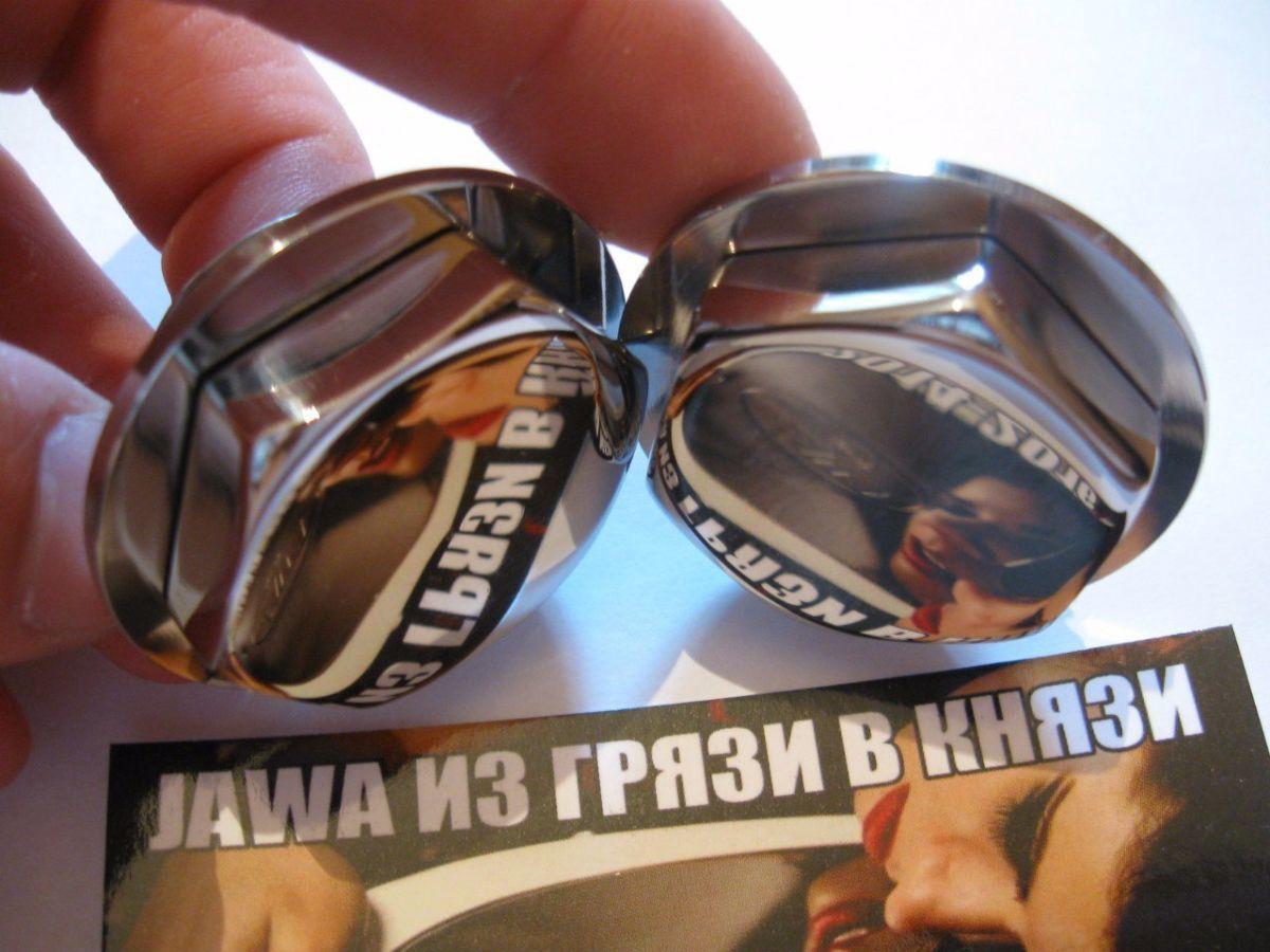 Фото 2 - Новинка-Пробки вилки ЯВА/JAWA 634 нержавейка.