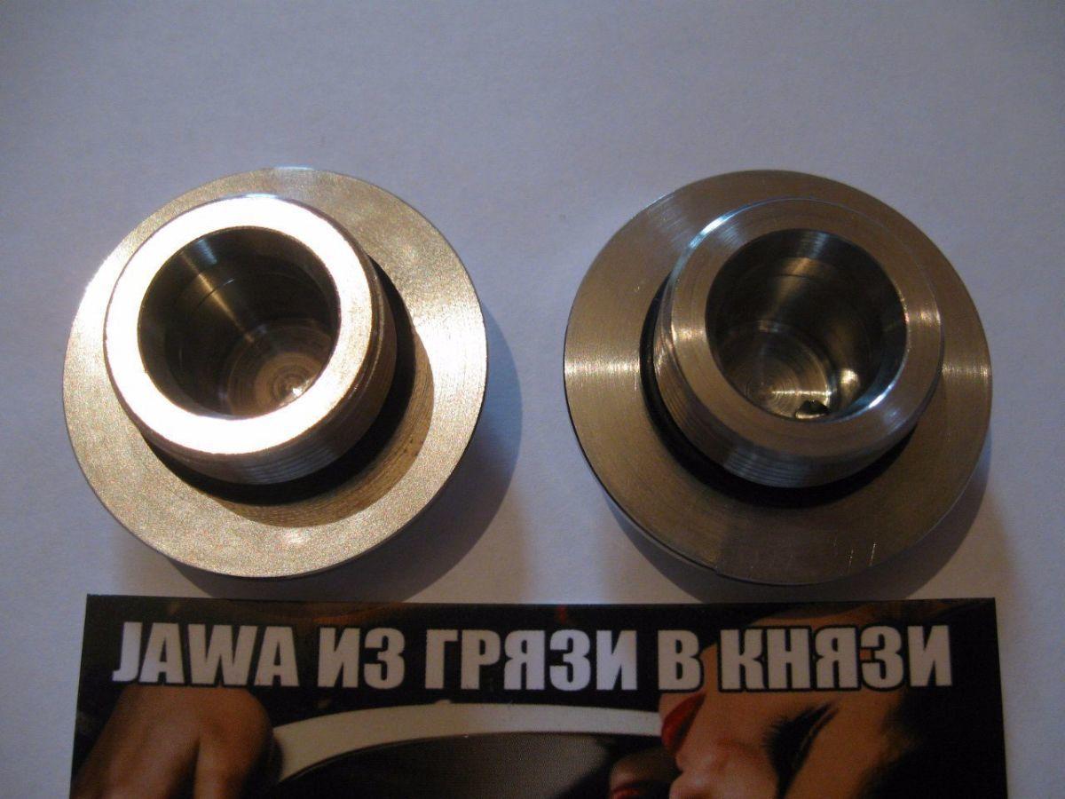 Фото 9 - Новинка-Пробки вилки ЯВА/JAWA 634 нержавейка.