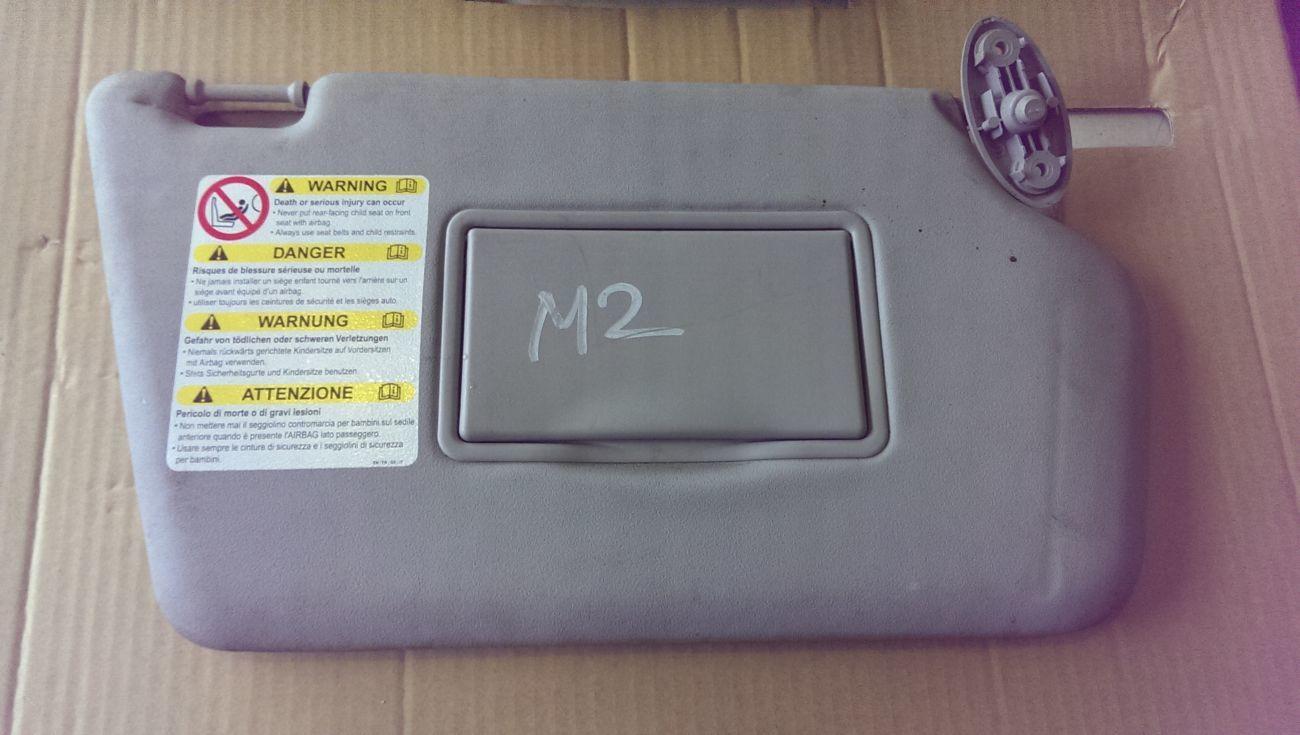 Фото 2 - Козырек солнцезащитный правый пассажирский Mazda 2 03-07