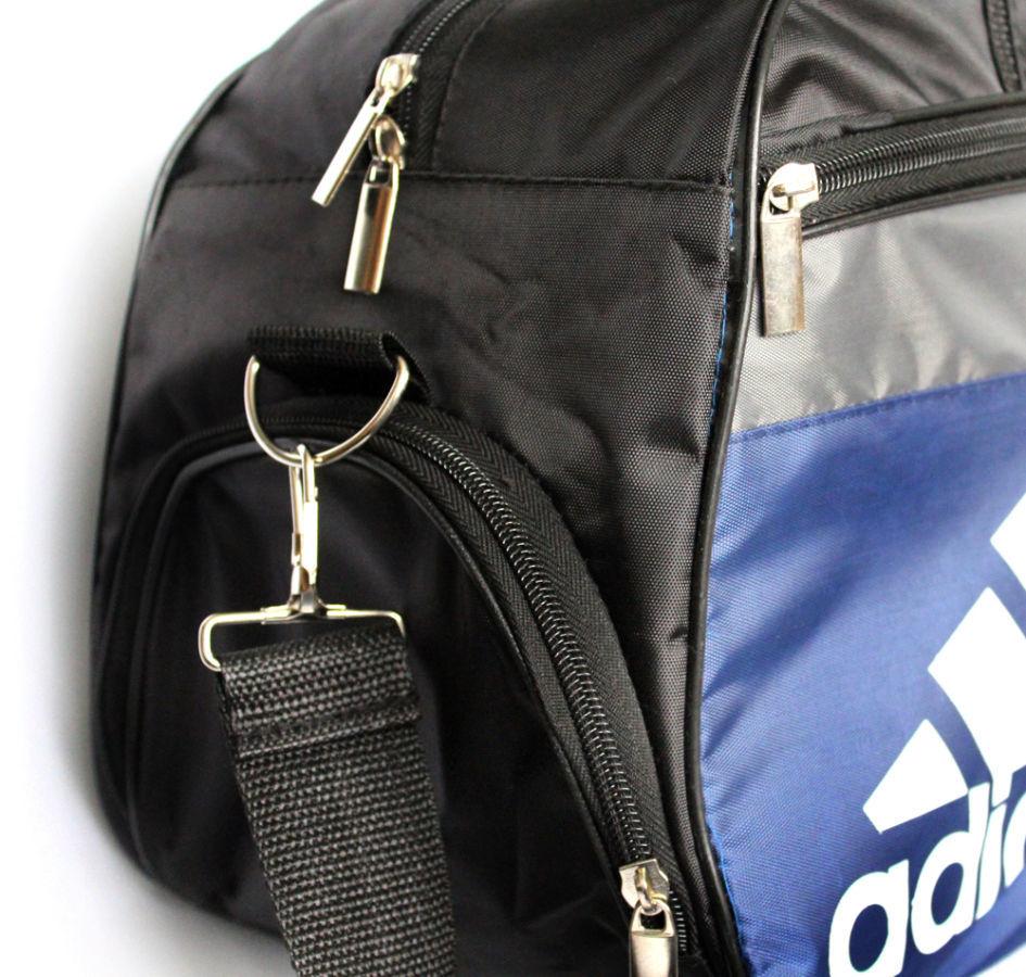 Фото 7 - Мужская спортивная дорожная сумка под Adidas (707)