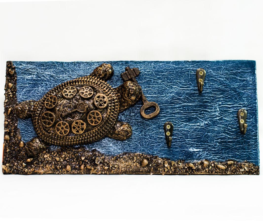Фото 3 - Прикольная черепаха ключница. Подарки ручной работы в Украине.