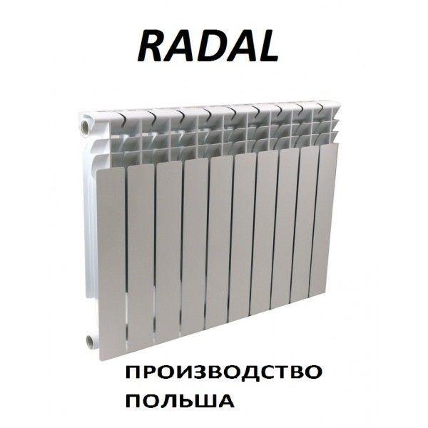 Фото - Алюминиевый радиатор Radal
