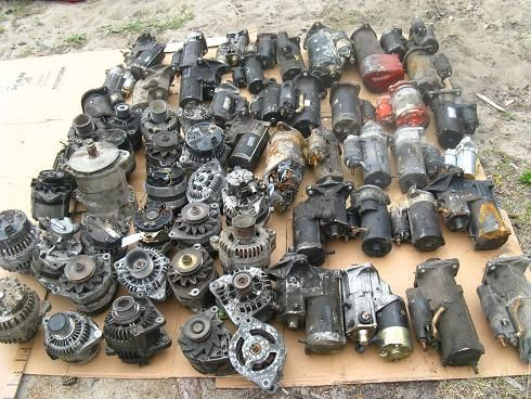 Фото - Стартер генератор Peugeot 1007 107 205 206 207 3008 306 307 308