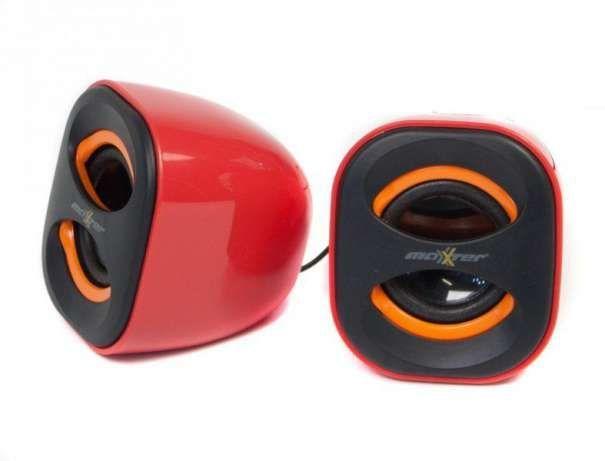Фото - Колонки Maxxter AS20 3W x 2 красные, USB