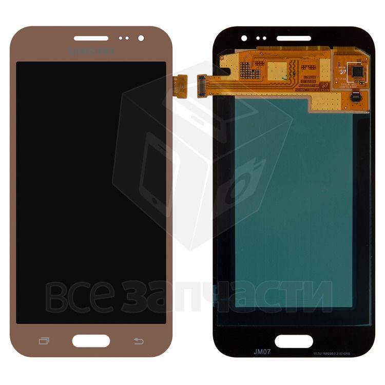 Фото - Дисплейный модуль Samsung J200F Galaxy J2, J200G Galaxy J2, золотистый