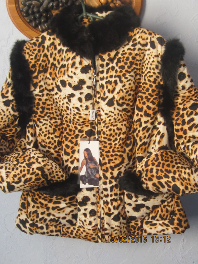 Фото 2 - Куртка 2 в 1 Тигровый принт