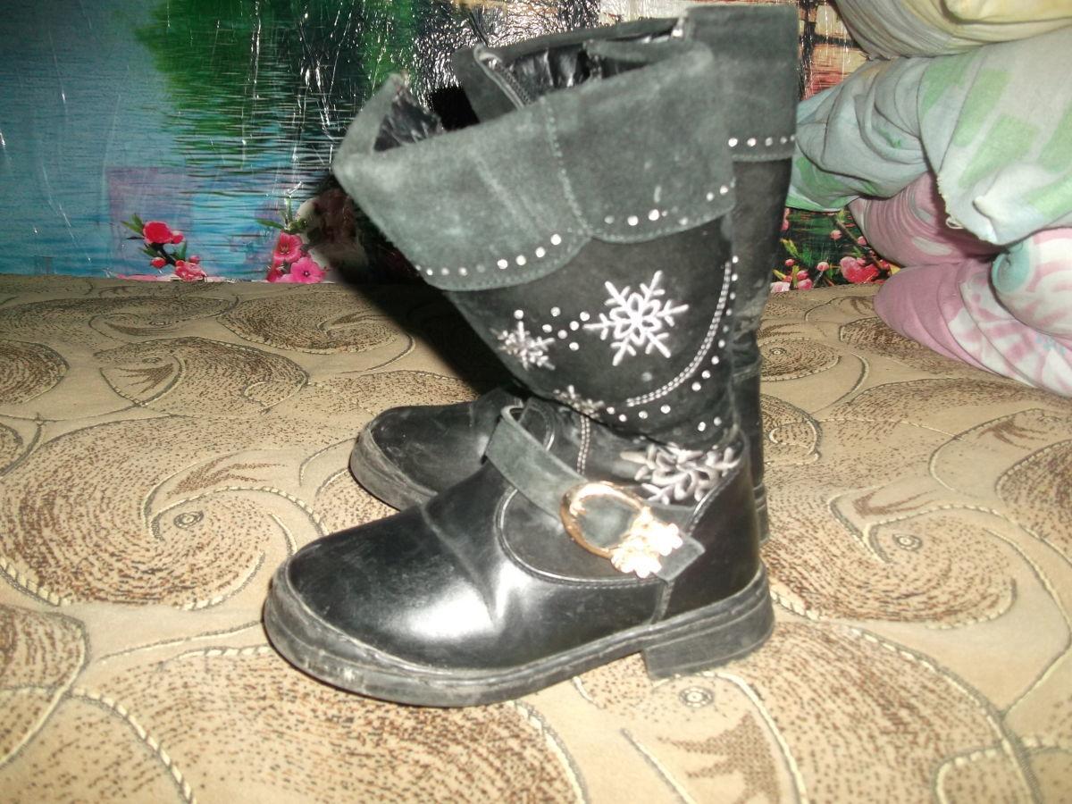 Фото - Продам зимние сапожки