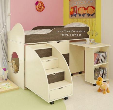 Фото 7 - Кровать двухъярусная + Стол письменный