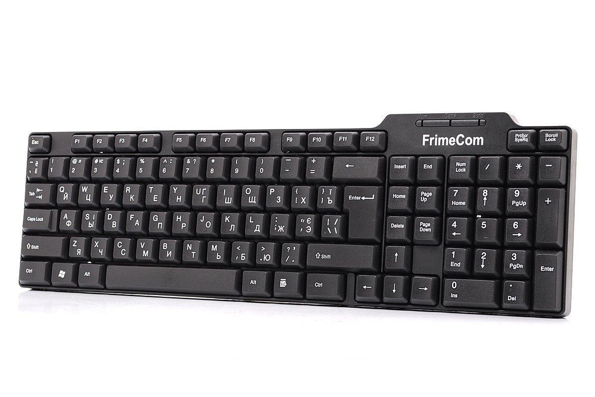 Фото - Клавиатура FrimeCom FC-825-USB Black