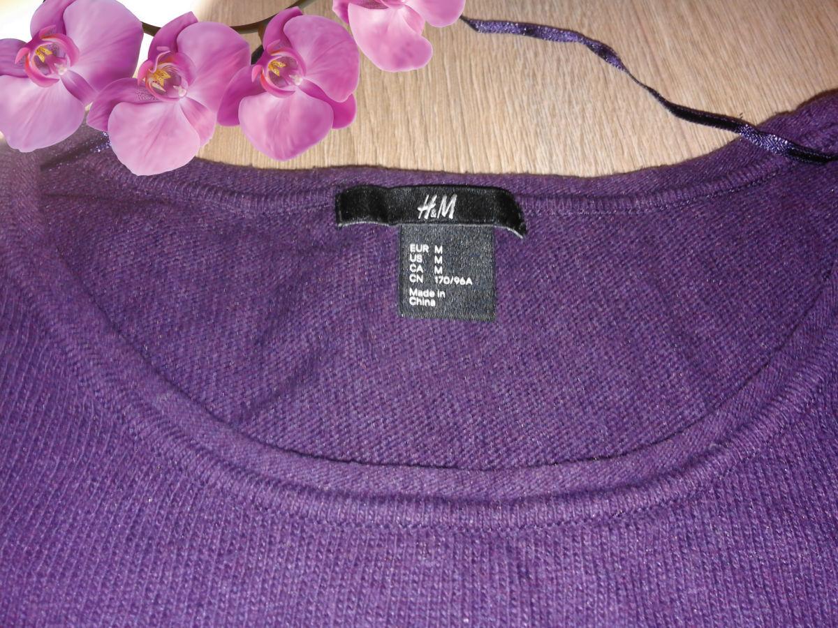 Фото - Фирменный свитер h&m большого размера.