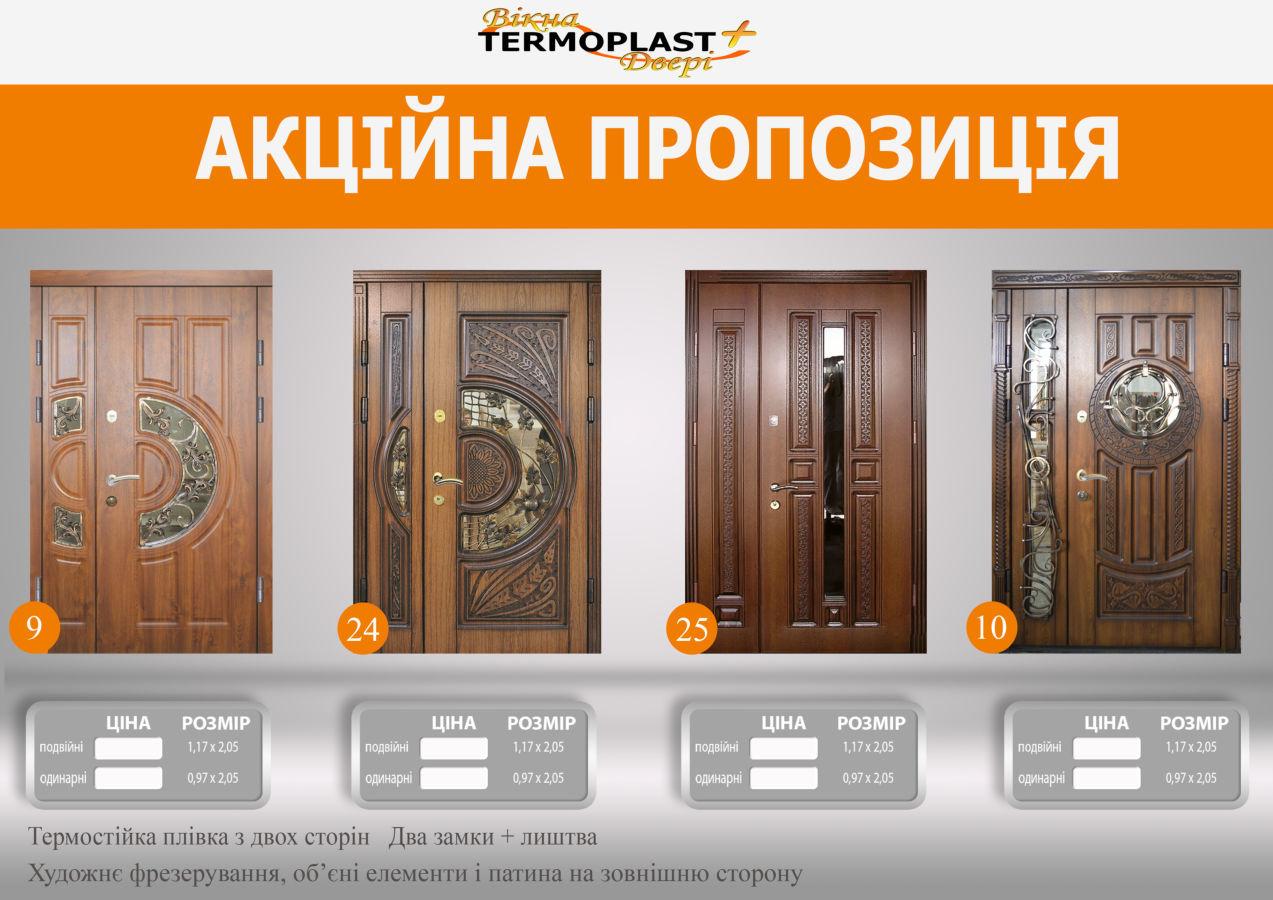 Фото 2 - Двери входные бронированные в дом