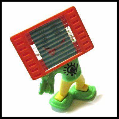 Фото - Киндер игрушки. Робот - экранчик. Мониторы