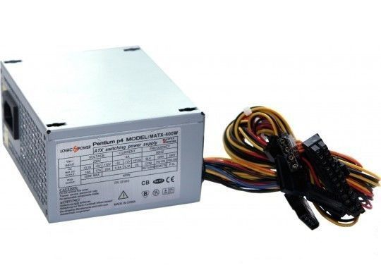 Фото - Блок питания 400W LogicPower SFX MATX-400W micro-ATX 2 SATA, OEM