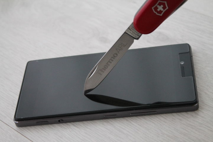 Фото 6 - Lenovo Vibe Shot Z90 защитное закаленное стекло на экран