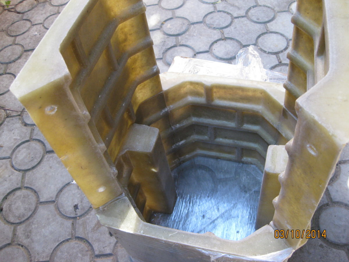 Фото 2 - Формы для наборного столба К-7