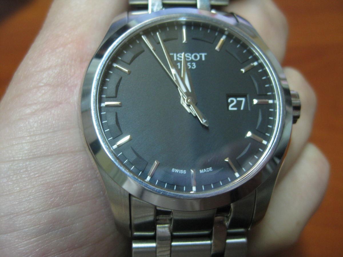 Фото - Оригинальные швейцарские часы TISSOT T035.410.11.051.00