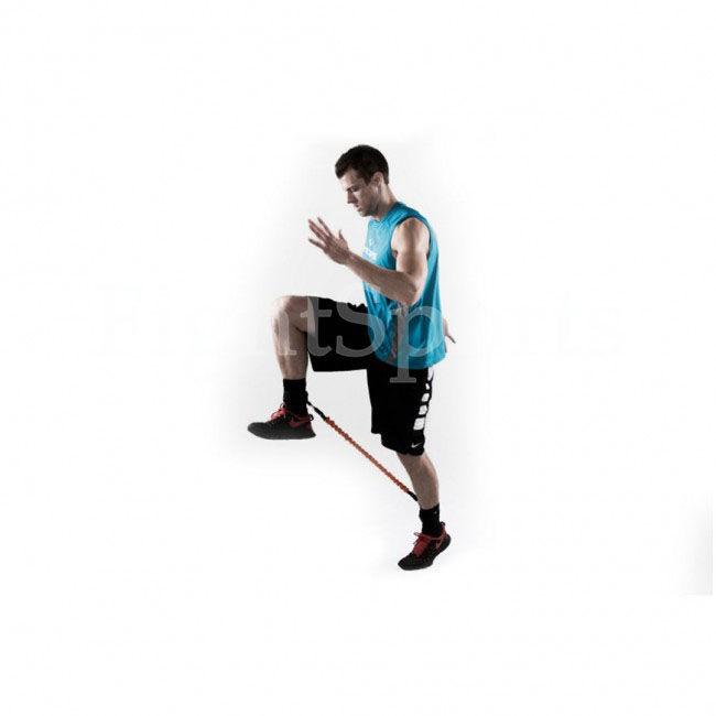 Фото 6 - Латеральный MMA экспандер для ног - оплата при получении!