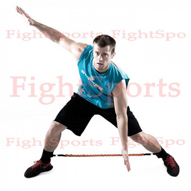 Фото 2 - Латеральный MMA экспандер для ног - оплата при получении!