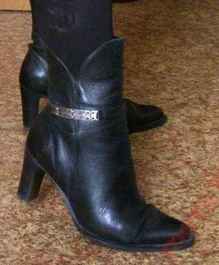 Фото - Кожаные ботинки весна-осень 37-38р