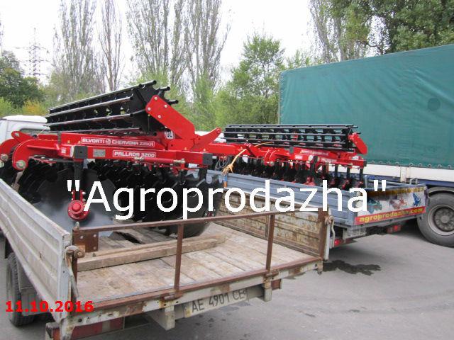 Фото - Борона дисковая Паллада 3200-01 (БДП-3200-01) Червона Зирка