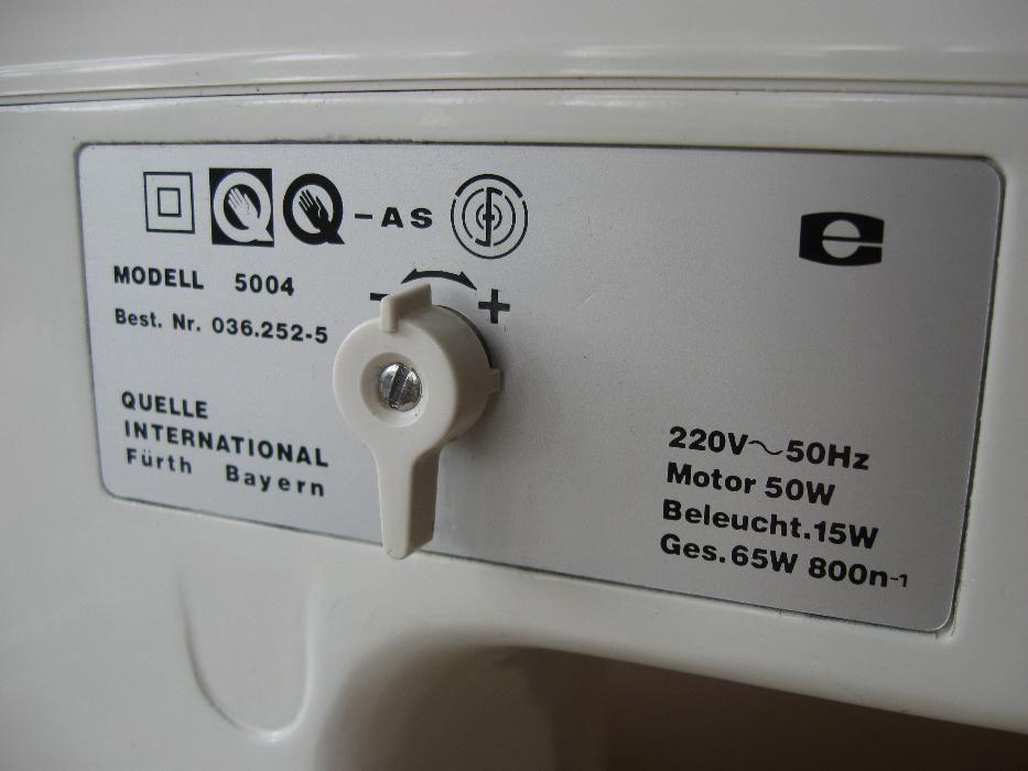 Фото 8 - Швейная машина Privileg 5004 Германия