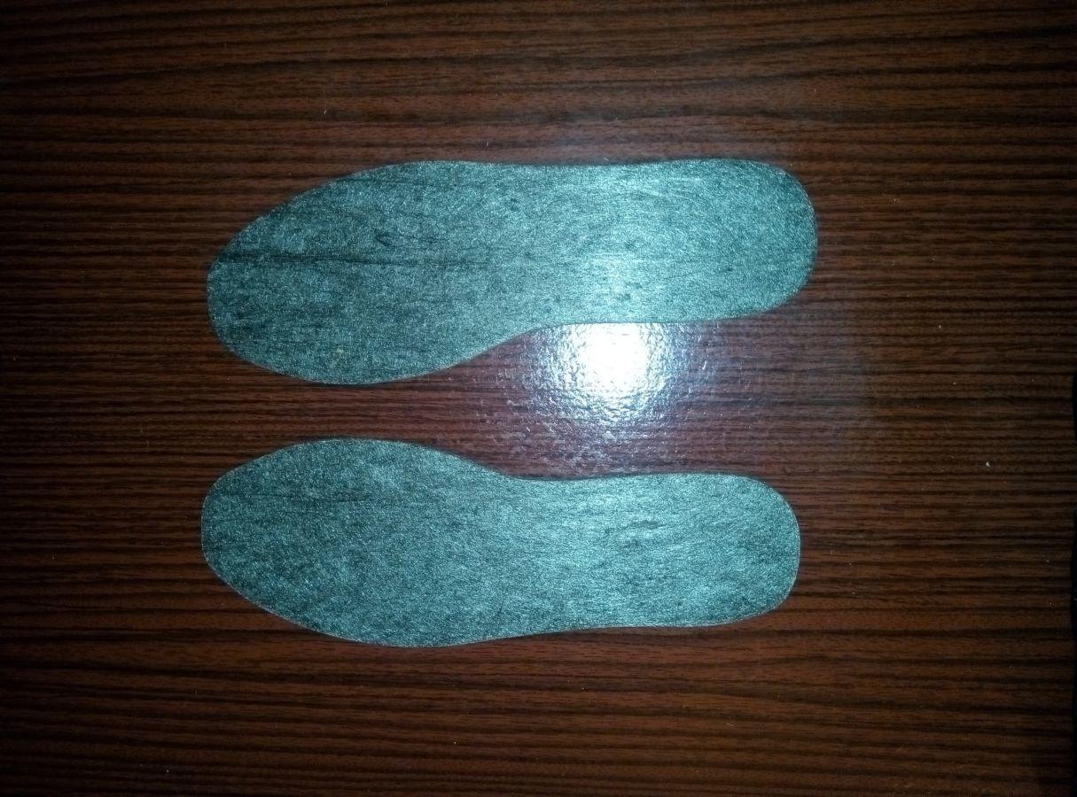 Фото - Стельки для обуви Фетр