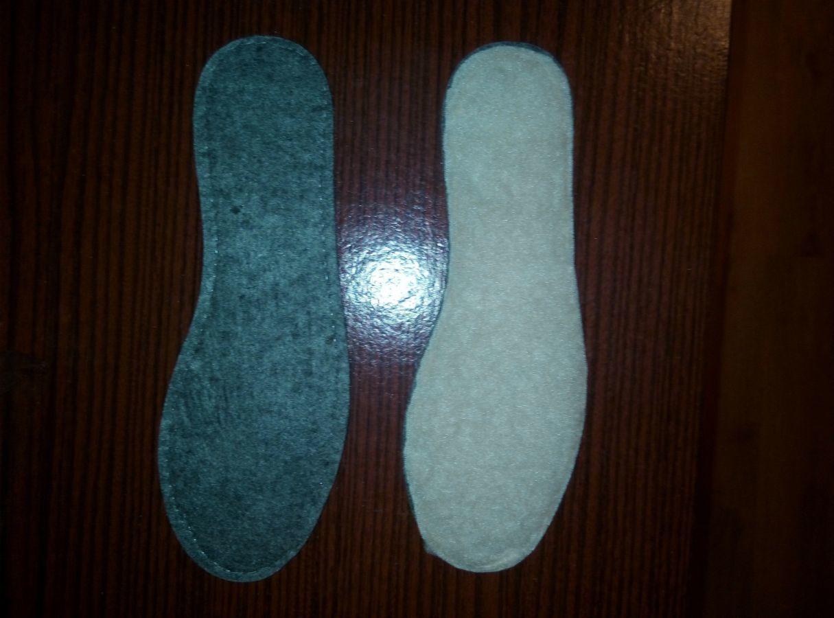 Фото 2 - Стельки для обуви овчина+фетр
