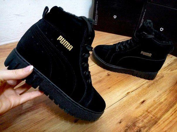 Фото - Зимние женские кроссовки Puma by Rihanna