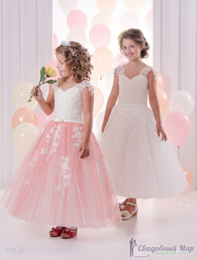Фото 2 - Детские нарядные платья
