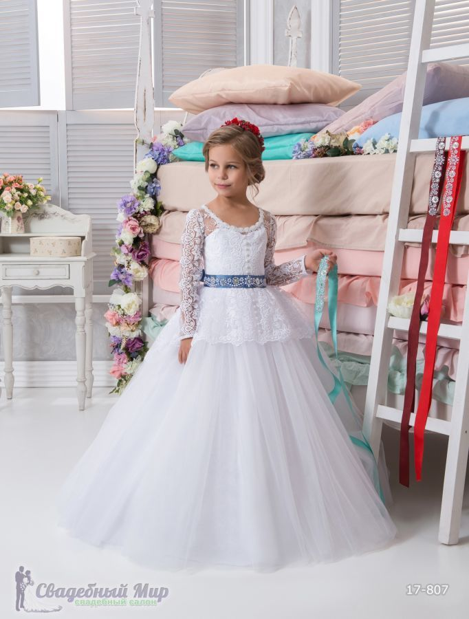 Фото 9 - Детские нарядные платья