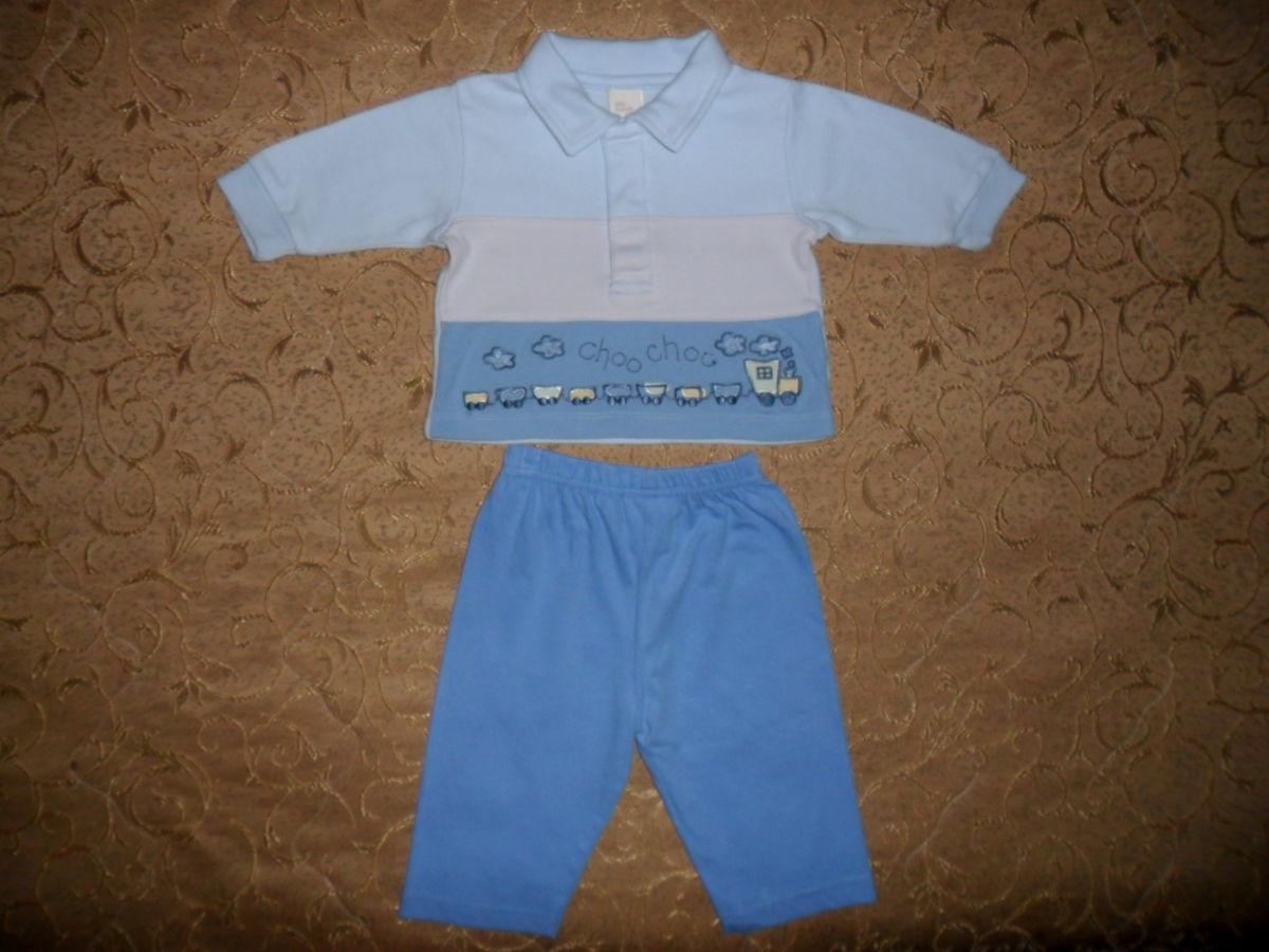 Фото - Симпатичный костюмчик на малыша 3-6мес.-кофта и штаны