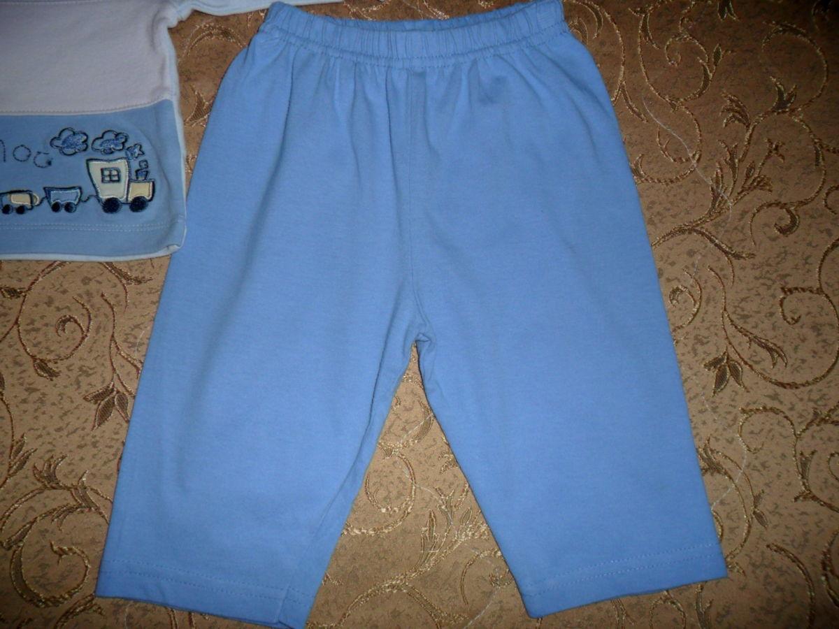 Фото 4 - Симпатичный костюмчик на малыша 3-6мес.-кофта и штаны