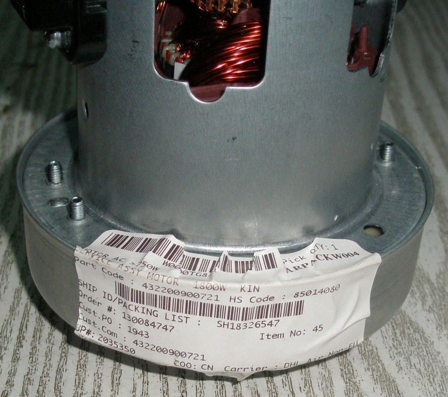 Фото 2 - Мотор (электродвигатель) пылесоса Philips KCL 230-15 432200900721