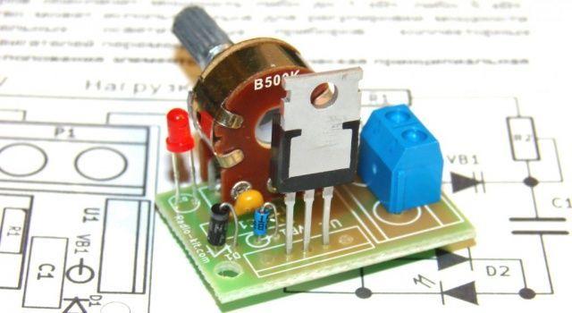 Фото 2 - Регулятор мощности на симисторе ВТА136-600  до 1 КВт 220 В