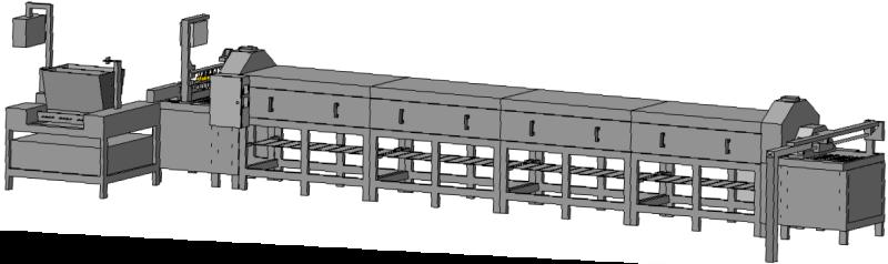 Фото - Автоматическая машина для производства кексовых изделий АМК-2