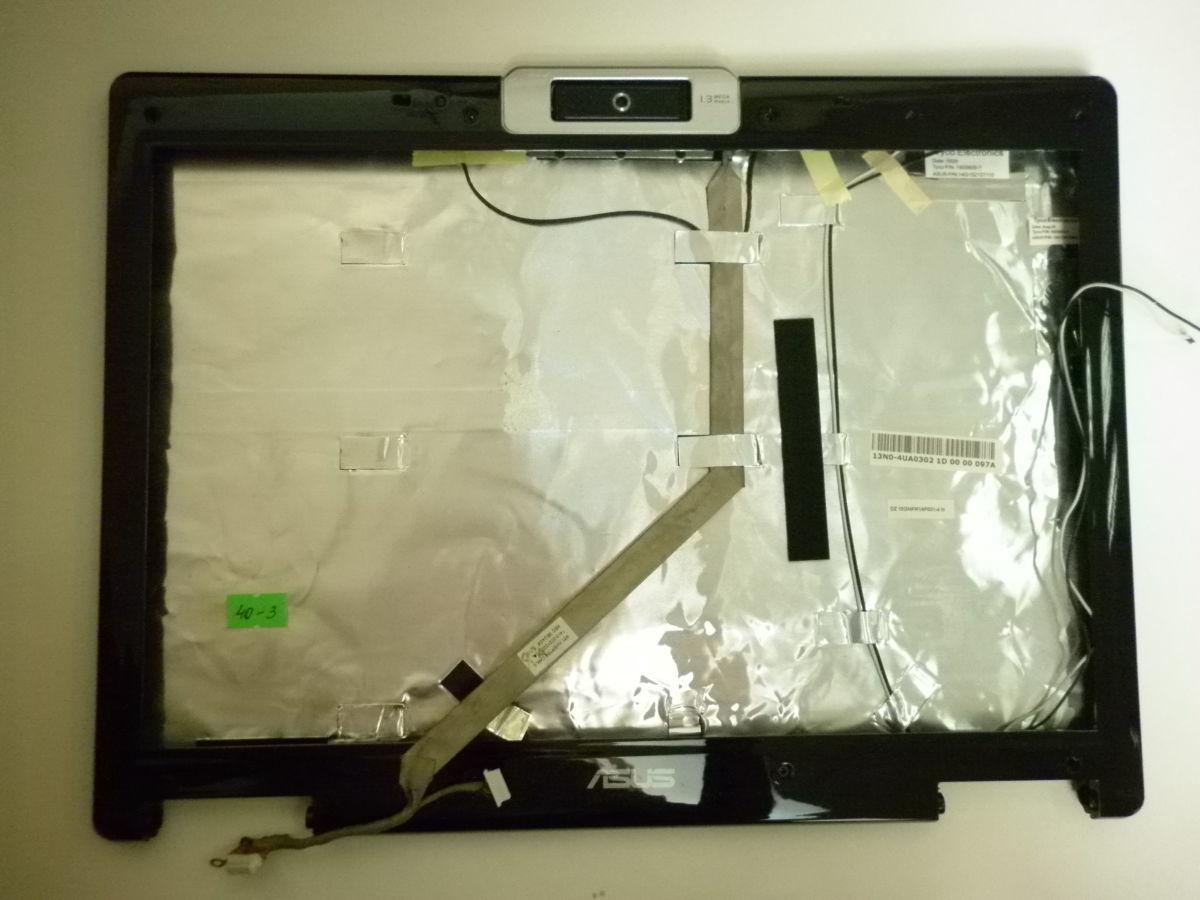 Фото 2 - Крышка с рамкой матрицы, WEB, микрофоном и шлейфом  Asus PRO57T (40-3)