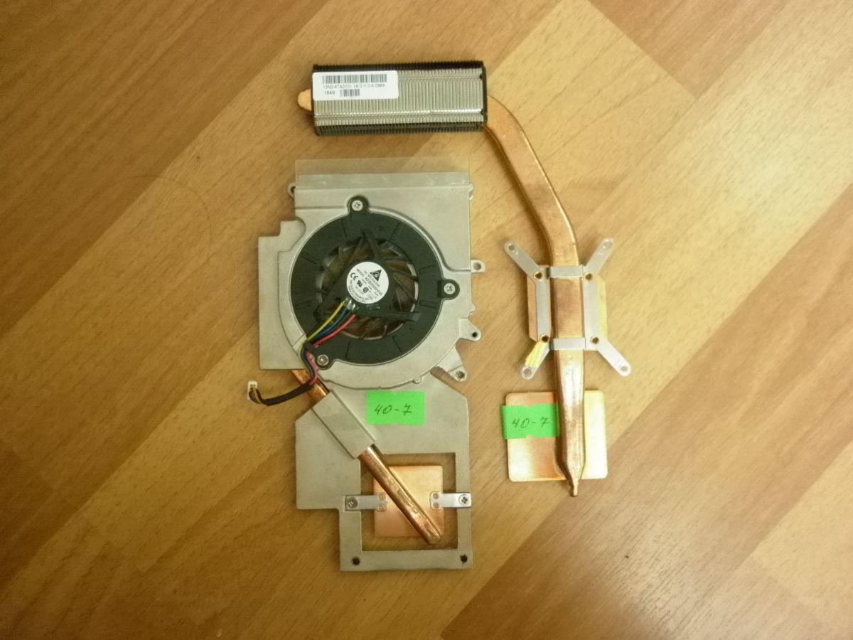 Фото - Система охлаждения с кулером KFB0505HHA 5V 0,36A Asus PRO57T