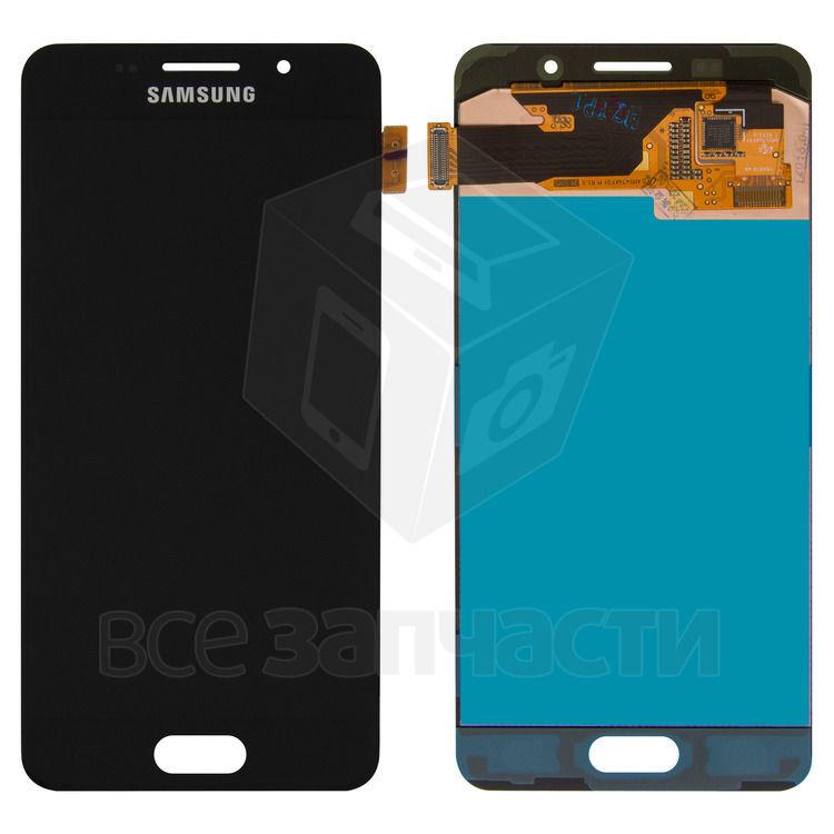 Фото - Дисплейный модуль Samsung A310F Galaxy A3 (2016), A310M Galaxy  черный