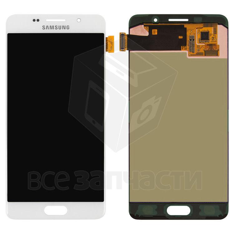 Фото - Дисплейный модуль телефонов Samsung A5100 Galaxy A5 (2016), A510 белый