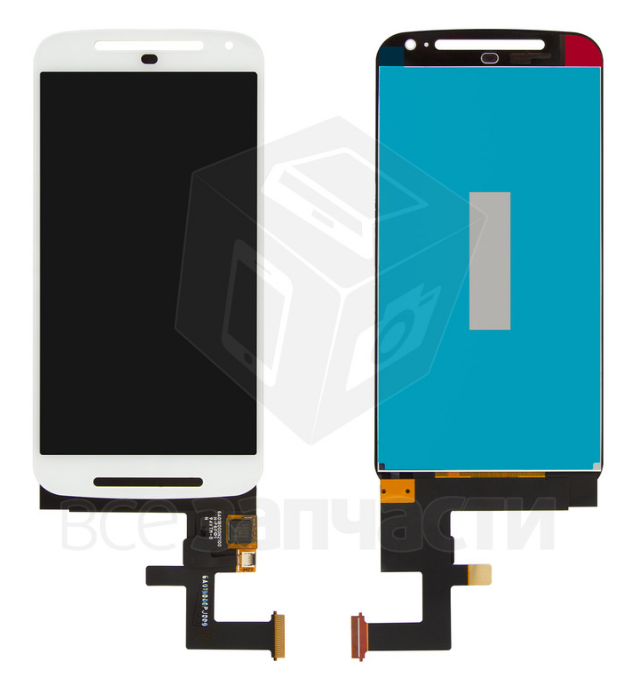 Фото - Дисплей Motorola XT1062 Moto G2, XT1063 Moto G2, XT1064 Moto G2