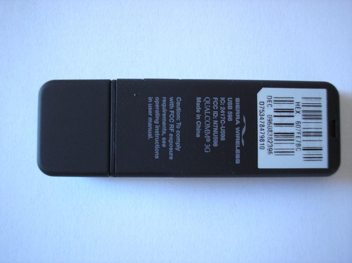 Фото 3 - 3G cdma USB модем Sierra Wireless 598 Rev.A