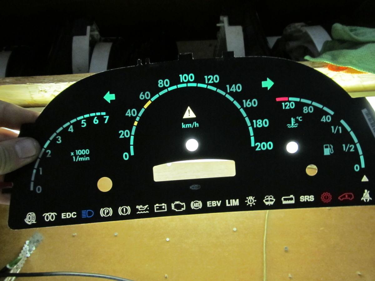 Фото 6 - Панель приборов щиток Mercedes Vito 638. 99/03 (CDI) 108/110/112