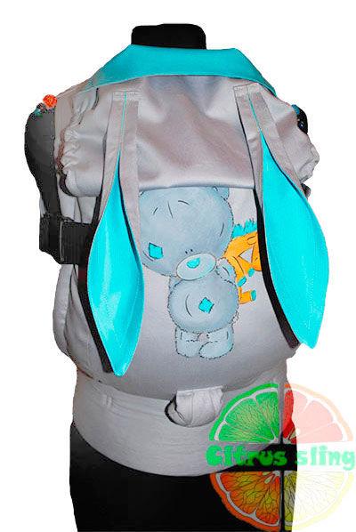 Фото 10 - Эрго-рюкзаки Citrus sling  с ушками  и рисунком ручной работы